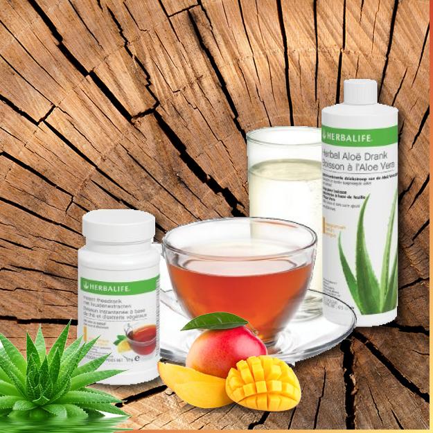 Gerda4TotalShape Herbalife Aloe drank